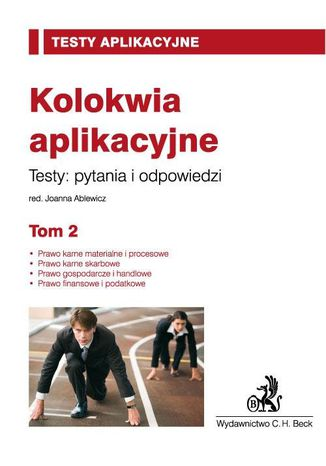 Okładka książki/ebooka Kolokwia aplikacyjne. Tom 2