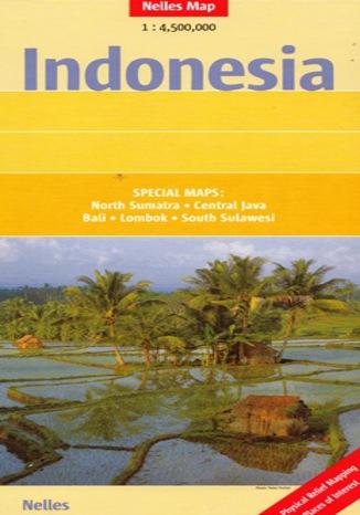 Okładka książki Indonezja. Mapa Nelles / 1:4 500 000