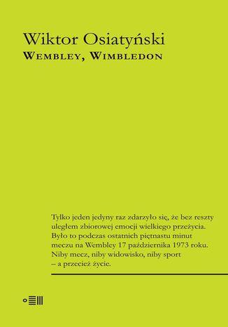 Okładka książki/ebooka Wembley Wimbledon
