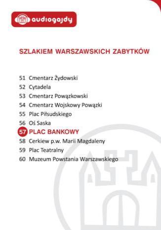 Okładka książki/ebooka Plac Bankowy. Szlakiem warszawskich zabytków
