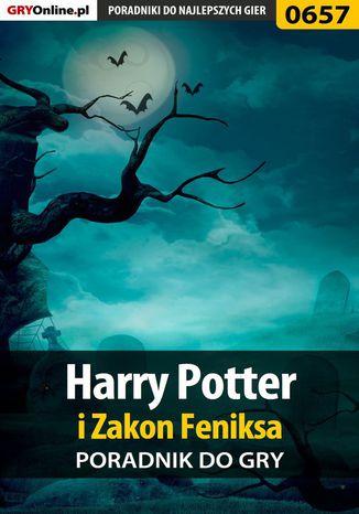 Okładka książki/ebooka Harry Potter i Zakon Feniksa - poradnik do gry