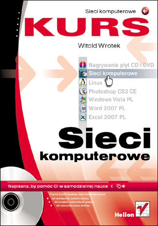 Okładka książki/ebooka Sieci komputerowe. Kurs
