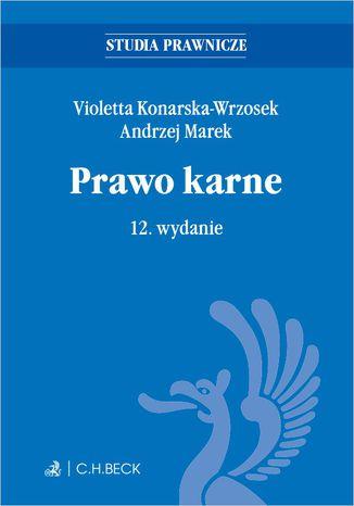 Okładka książki/ebooka Prawo karne. Wydanie 12