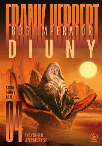 Okładka książki/ebooka Bóg Imperator Diuny