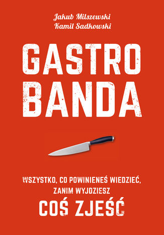 Okładka książki/ebooka Gastrobanda