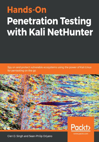 Okładka książki/ebooka Hands-On Penetration Testing with Kali NetHunter