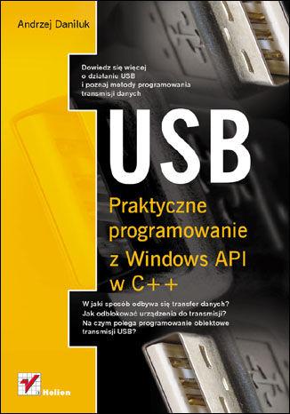 Okładka książki/ebooka USB. Praktyczne programowanie z Windows API w C++
