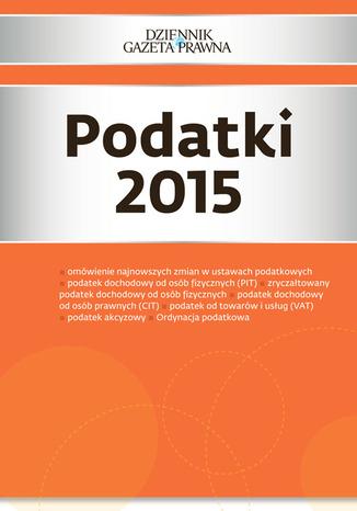 Okładka książki/ebooka Podatki 2015