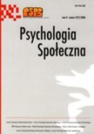 Okładka książki/ebooka Psychologia Społeczna nr 2(7)/2008