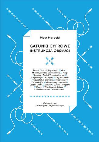 Okładka książki/ebooka Gatunki cyfrowe. Instrukcja obsługi