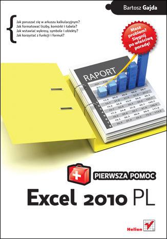 Okładka książki/ebooka Excel 2010 PL. Pierwsza pomoc