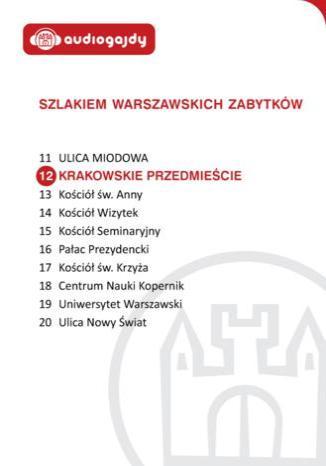 Okładka książki/ebooka Krakowskie Przedmieście. Szlakiem warszawskich zabytków