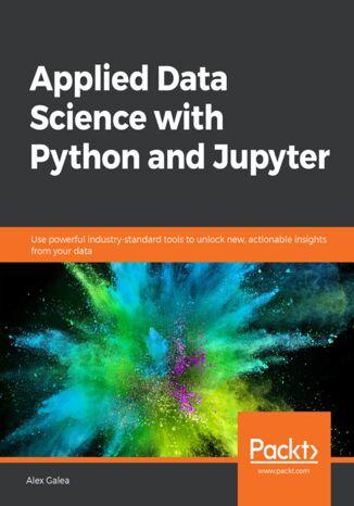 Okładka książki/ebooka Applied Data Science with Python and Jupyter