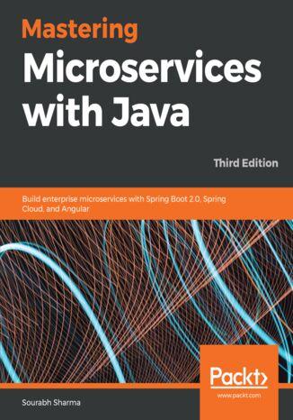 Okładka książki/ebooka Mastering Microservices with Java