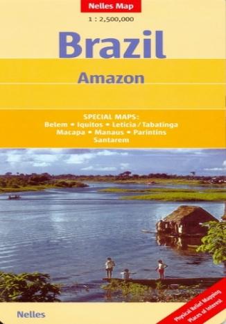 Okładka książki/ebooka Brazylia. Amazonka. Mapa