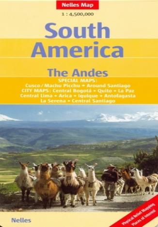 Okładka książki/ebooka Ameryka Południowa. Andy. Mapa