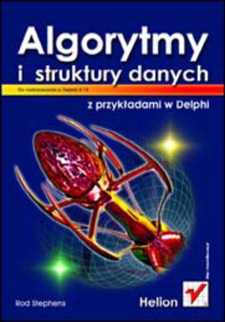 Okładka książki/ebooka Algorytmy i struktury danych z przykładami w Delphi