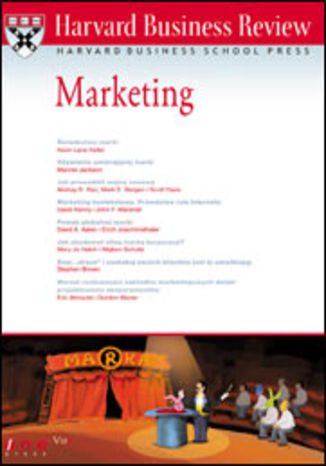 Okładka książki/ebooka Harvard Business Review. Marketing
