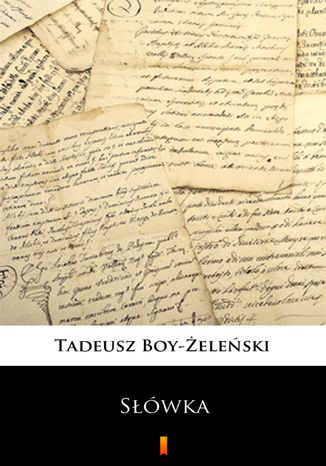 Okładka książki/ebooka Słówka