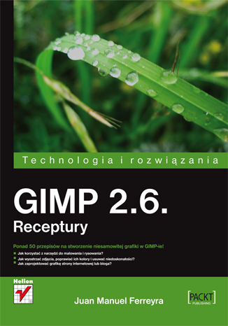 Okładka książki/ebooka GIMP 2.6. Receptury