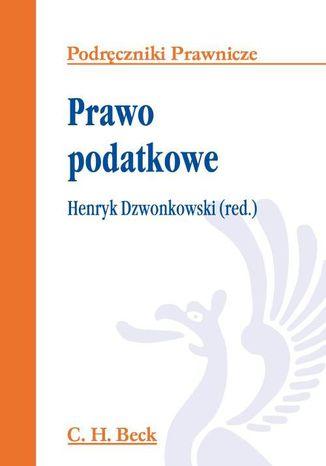 Okładka książki/ebooka Prawo podatkowe