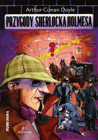 Okładka książki/ebooka Przygody Sherlocka Holmesa