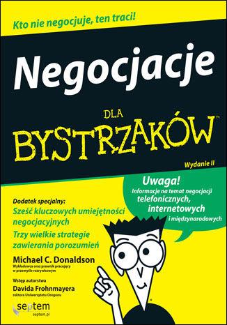 Okładka książki Negocjacje dla bystrzaków. Wydanie II