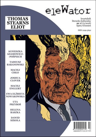 Okładka książki/ebooka eleWator 17 (3/2016) - Thomas Stearns Eliot