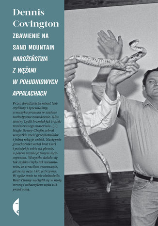 Okładka książki/ebooka Zbawienie na Sand Mountain. Nabożeństwa z wężami w południowych Appalachach