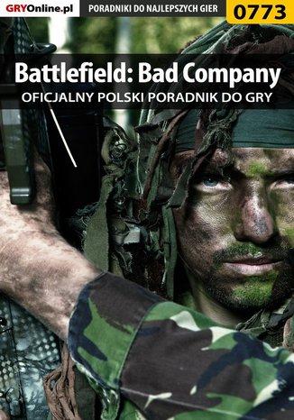 Okładka książki/ebooka Battlefield: Bad Company - poradnik do gry