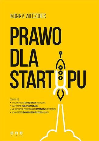 Okładka książki/ebooka Prawo dla startupu