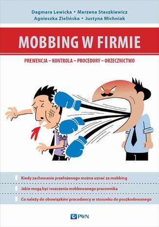 Okładka książki/ebooka Mobbing w firmie