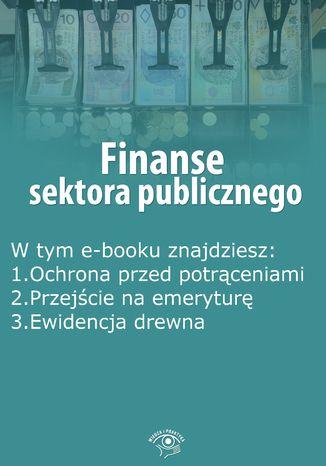 Okładka książki/ebooka Finanse sektora publicznego, wydanie kwiecień 2015 r