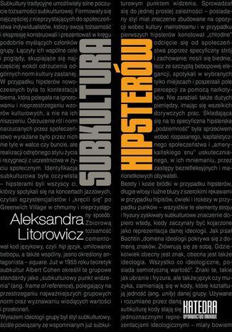 Okładka książki/ebooka Subkultura hipsterów