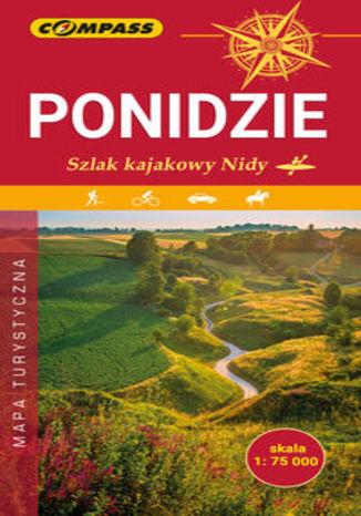 Okładka książki/ebooka Ponidzie Szlak kajakowy Nidy