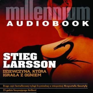 Okładka książki Millennium. Dziewczyna, która igrała z ogniem (#2)