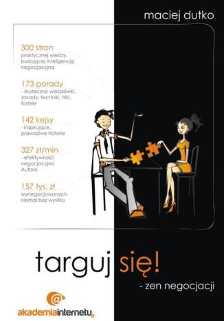 Okładka książki/ebooka Targuj się! Zen negocjacji