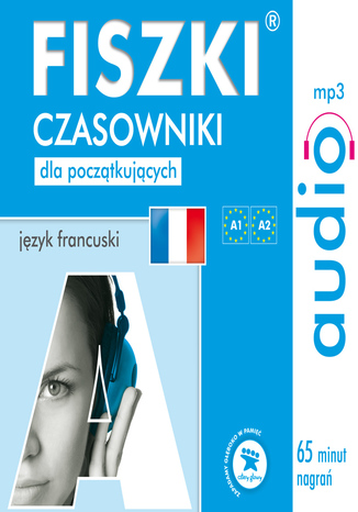 Okładka książki/ebooka FISZKI audio - j. francuski - Czasowniki dla początkujących