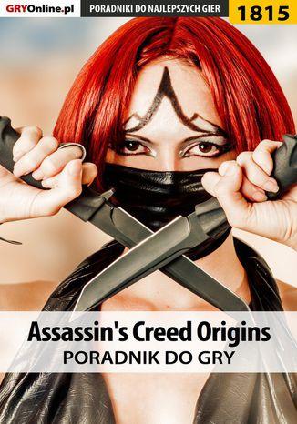 Okładka książki/ebooka Assassin's Creed Origins - poradnik do gry