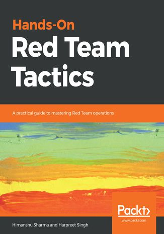 Okładka książki/ebooka Hands-On Red Team Tactics
