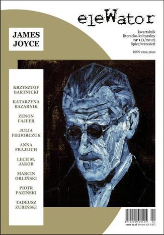 Okładka książki/ebooka eleWator 1 (1/2012) - James Joyce