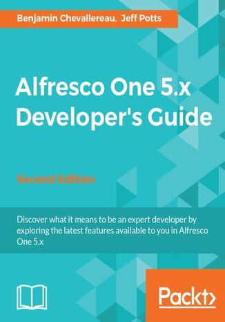 Okładka książki/ebooka Alfresco One 5.x Developer's Guide - Second Edition