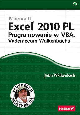 Okładka książki/ebooka Excel 2010 PL. Programowanie w VBA. Vademecum Walkenbacha