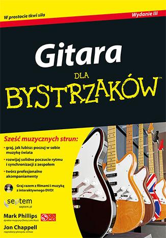 Okładka książki/ebooka Gitara dla bystrzaków. Wydanie III