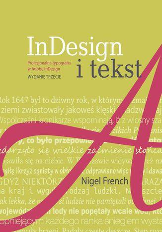 Okładka książki/ebooka InDesign i tekst. Profesjonalna typografia w Adobe InDesign