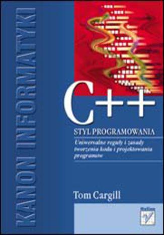 Okładka książki/ebooka C++. Styl programowania