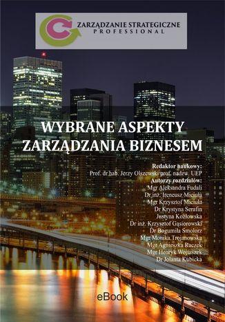 Okładka książki/ebooka Wybrane aspekty zarządzania biznesem