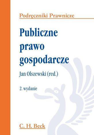 Okładka książki/ebooka Publiczne prawo gospodarcze
