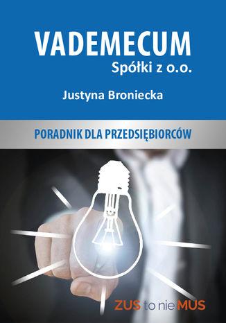 Okładka książki/ebooka Vademecum spółki z o.o
