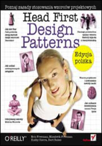 Okładka książki Head First Design Patterns. Edycja polska (Rusz głową!)
